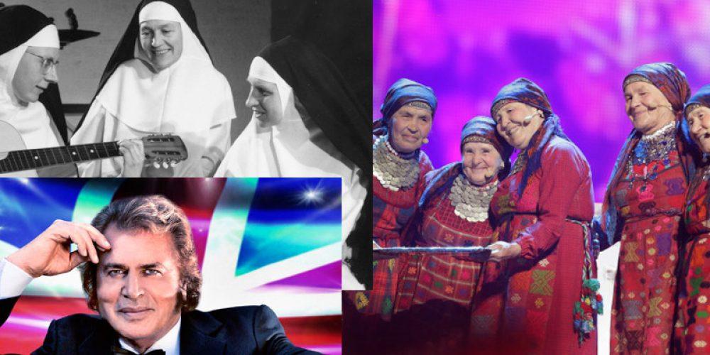 Syngjandi ommur, abbar og nunnur